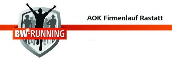 6. AOK Firmenlauf Rastatt am Mittwoch, 22. Juli 2020 - Start: 18.30 Uhr - Rastatter SC/DJK